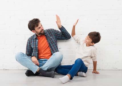 high-five-successful-parenting